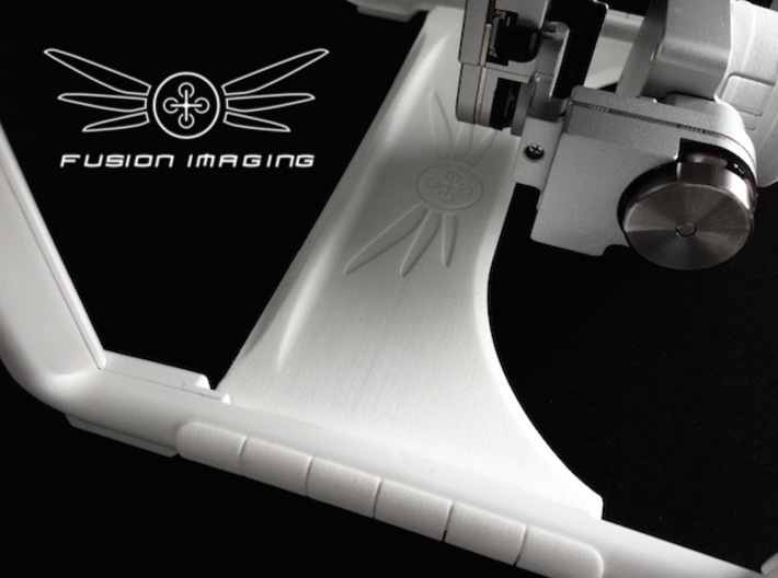 Phantom 3 Gimbal Guard - Customize 3d printed Phantom 3 Gimbal Guard - Customize