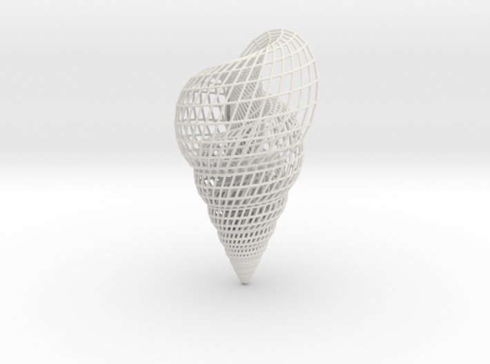 Shell 3 3d printed