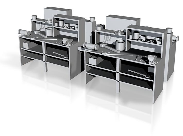 Workbench X4 3d printed