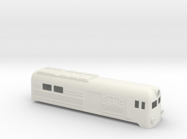 Soviet VL8 electric locomotive shell 3d printed