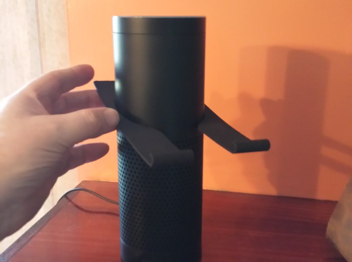 Amazon Echo Alexa Phone Stand 3d printed