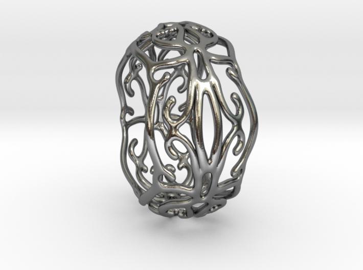 Ivy Ring 3d printed