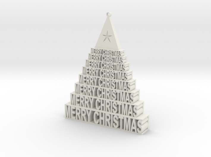 Christmas Tree 3d printed