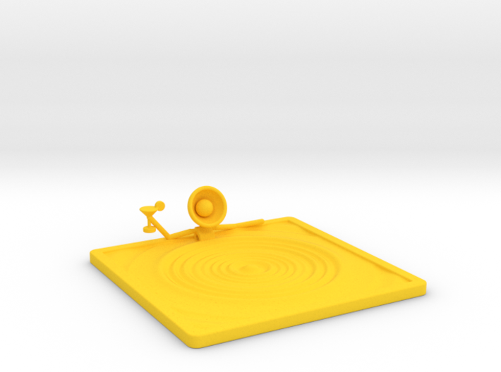 "Lala ""Relaxing in Swimming Pool"" - DeskToys 3d printed"