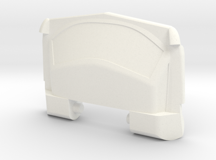 GTR Faux Roof Chest Plate 3d printed