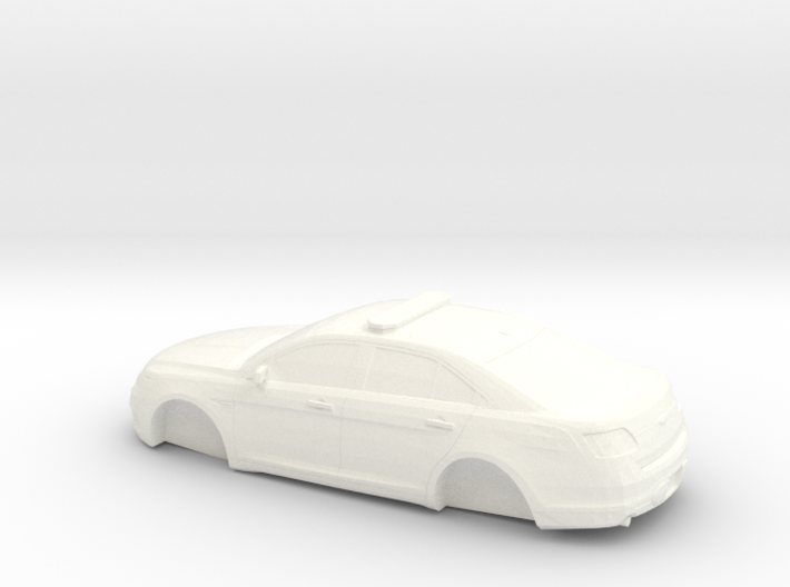 HO Scale 2012-2016 Ford Taurus Police Interceptor 3d printed