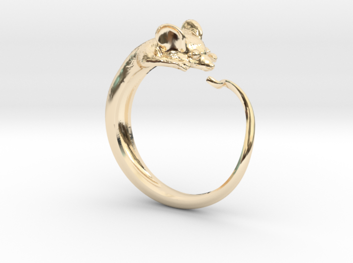 Mouse Ring 3d printed