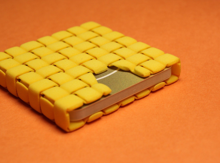 WOV Business Card Case - for MOO Square Cards 3d printed Wov is a great conversation starter