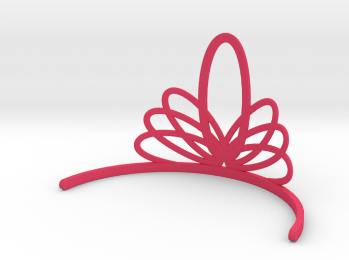 Princess Tiara 3d printed
