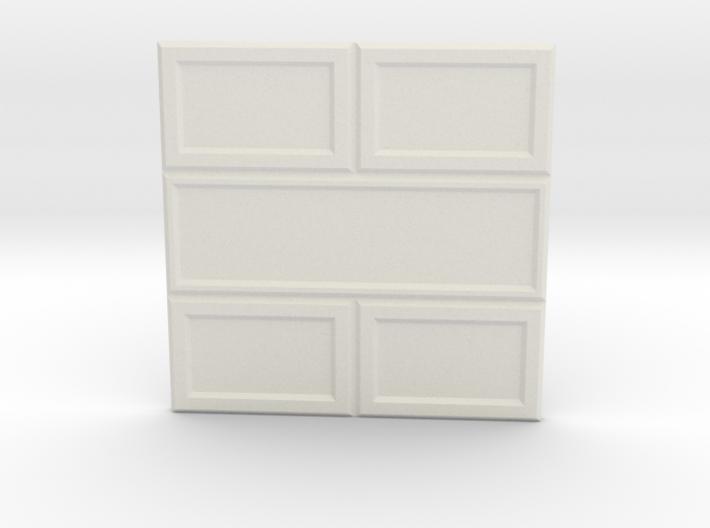 Paneled Wall 002 3d printed