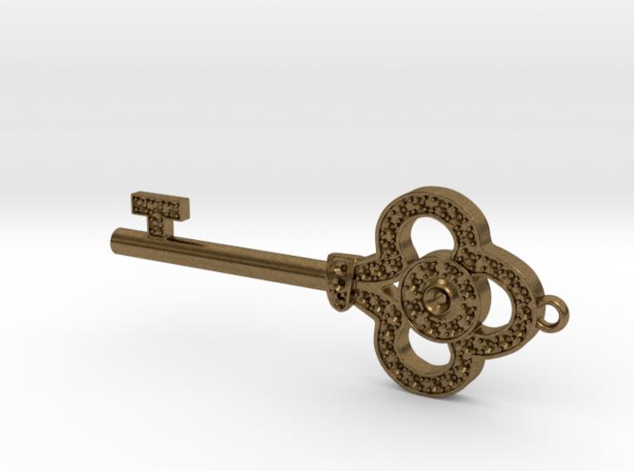 Pendant Key 3d printed