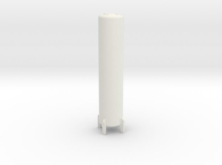 N Scale Cryogenic Tank ø12-55mm 3d printed