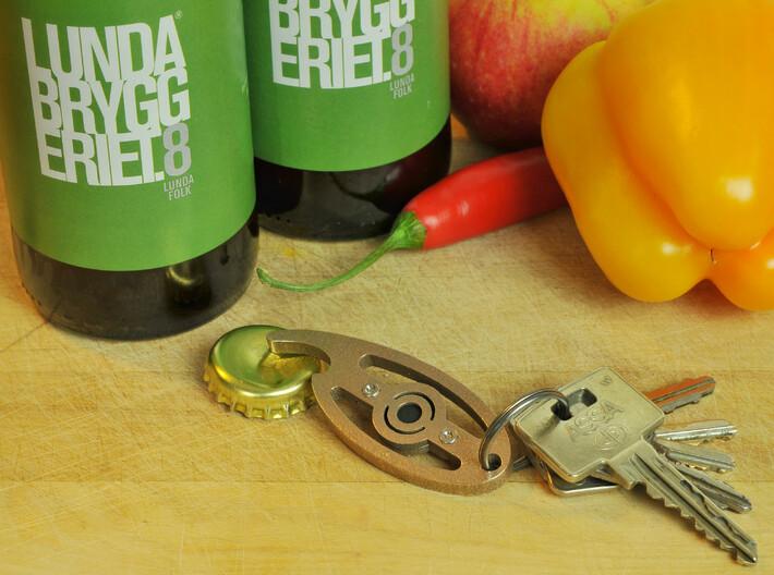 Eye of Horus - NFC Keychain Bottle Opener 3d printed Keychain