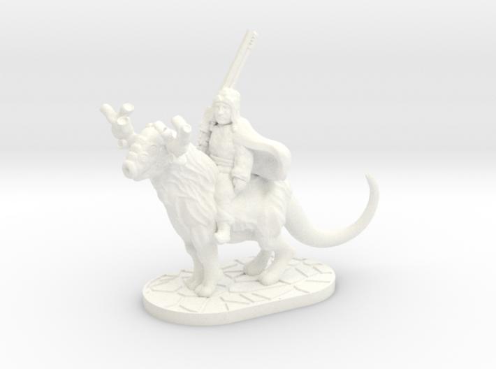 Taiga Strider (28mm/Heroic scale miniature) 3d printed