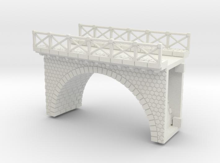 NV3M7 Small modular viaduct 1 track 3d printed