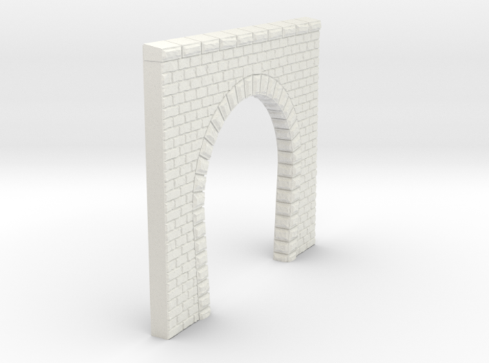 NT13 Tunnel portal for single track 3d printed