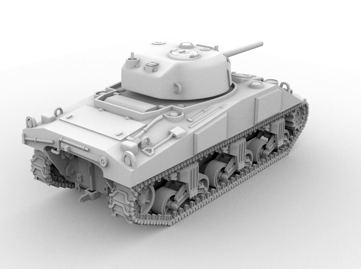 M4 Sherman(1:48 Scale) 3d printed