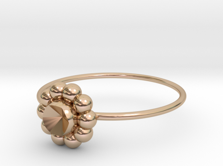 Size 8 Shapes Ring S6 3d printed