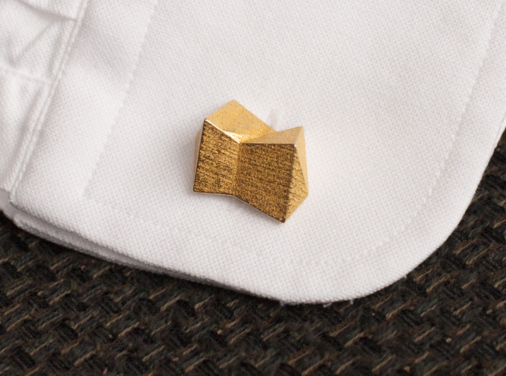 Cufflinks The Knot 3d printed