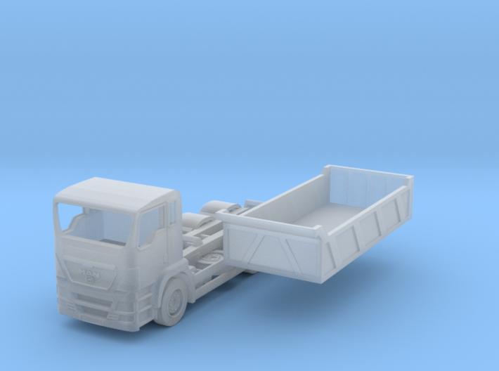 TT Scale MAN Dump Truck 3d printed