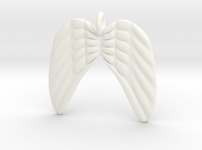 Angel Wings 3d printed