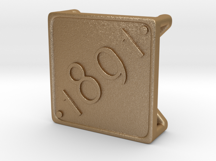 Open Charm - 1891 3d printed