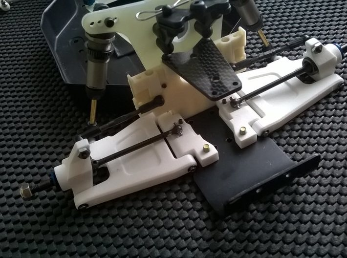 '91 Worlds Conversion - Rear Arm 3-1 Mounts 3d printed