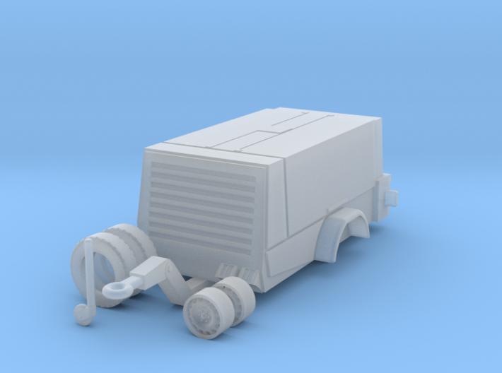 1:50 fahrbarer Baukompressor 3d printed