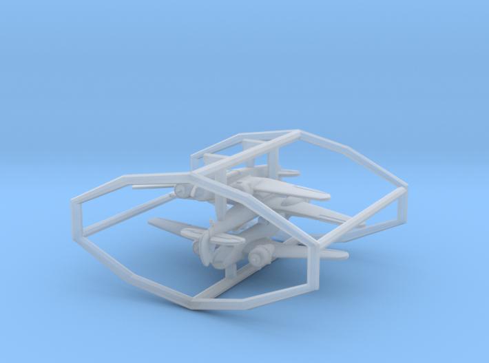 1/700 Blenheim x3 (FUD) 3d printed