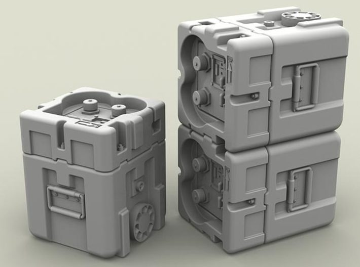 1/35 SPM-35-027-TOW-03A TOW battery x2 in set 3d printed