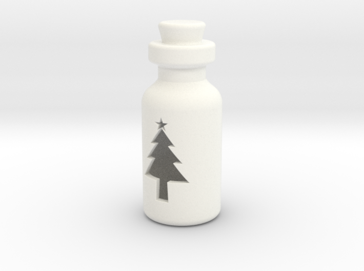 Small Bottle (Christmas Tree) 3d printed