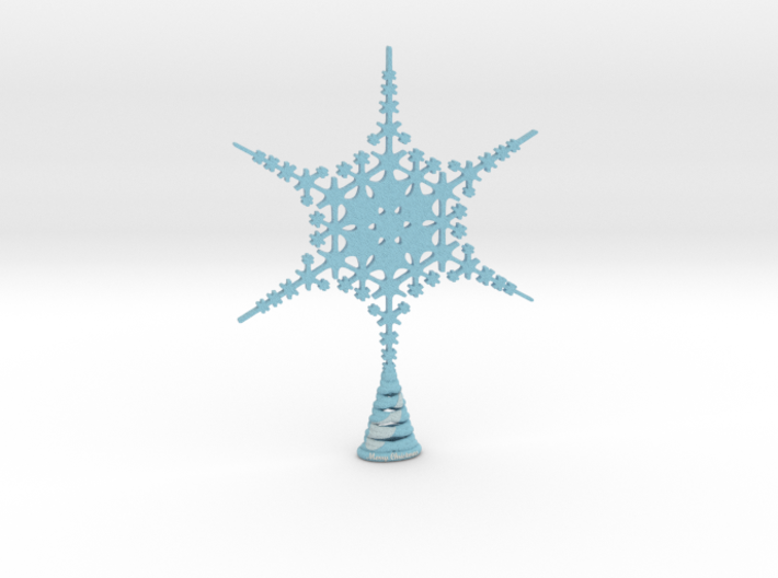XLarge Sparkle Snow Star - Tree Top - HP4-XL 3d printed