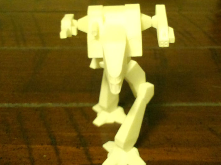 Shadowcat Proto 3d printed Here he is in White Strong & Flexible material