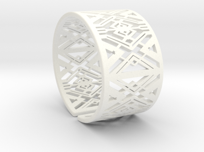 Patterned Cuff Detail 3 3d printed