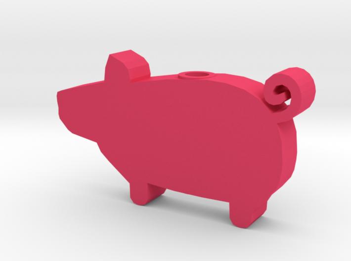DRAW HC ornament - piggy 3d printed
