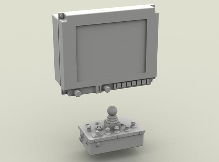 1/35 SPM-35-039-02 LM Gyrocam (without cover) 3d printed