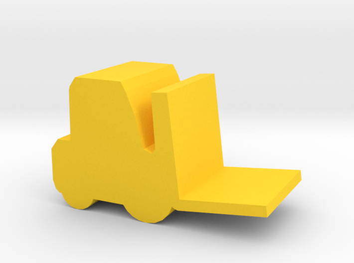 Game Piece, Forklift 3d printed