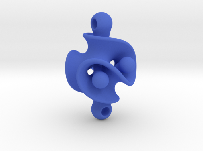 Triple Torus Pendant 3d printed