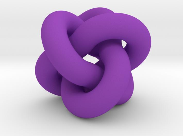 Borromean Rings Pendant 3d printed