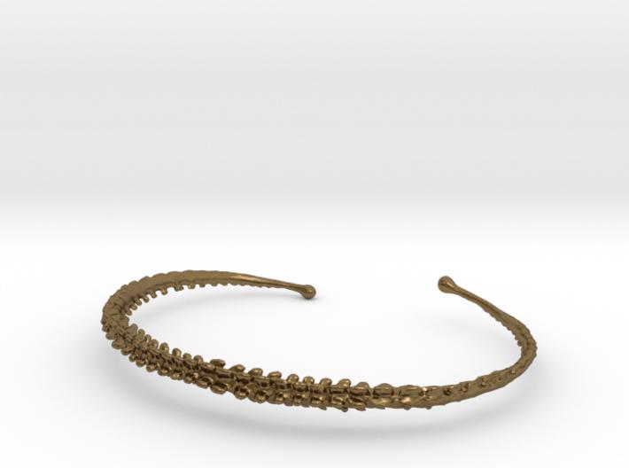 Dino Tail Bracelet  3d printed