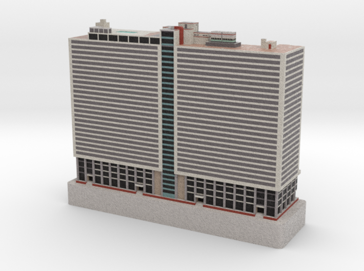 Comcast ITC, Sterling Apts - Philadelphia, PA 3d printed