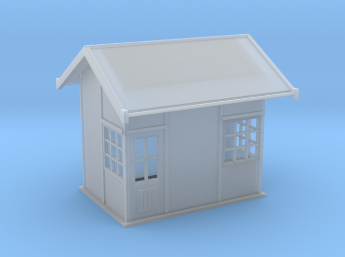 TT scale 1920s Point lever/relay cover hut 3d printed
