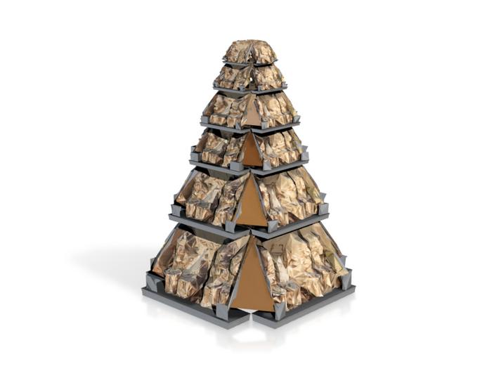 Torentempel 3d printed