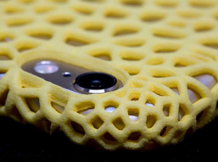 iPhone6 Case Vorono1 (Extreme Voronoi Edition) 3d printed