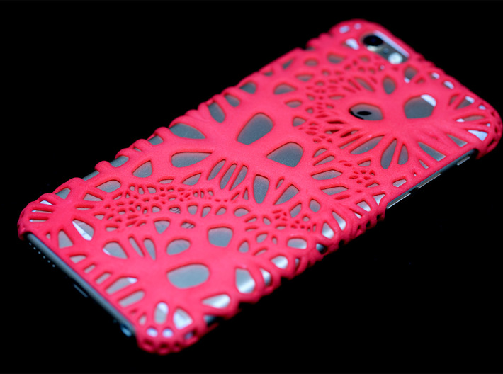 iPhone6 Case Wave (Extreme Voronoi Edition) 3d printed