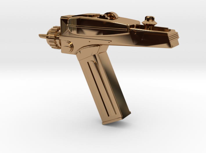 Star Trek Phaser Keychain 3d printed