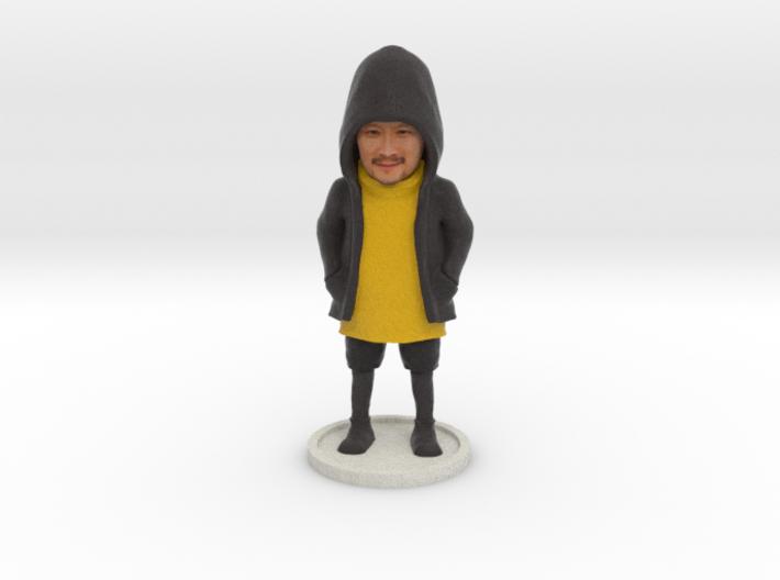 TDZ001 - Hoodie Figurine 3d printed