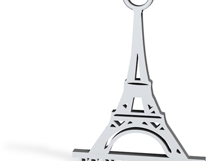 Pray For Paris 3d printed