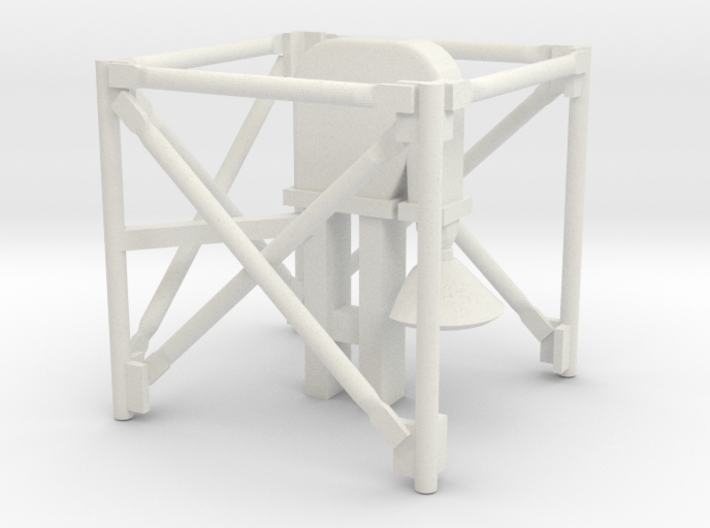 1/64 Grain Leg Top Section 3d printed