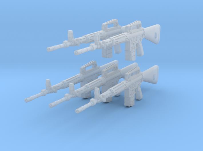 1-16 Armalite XM-10 Set 3d printed